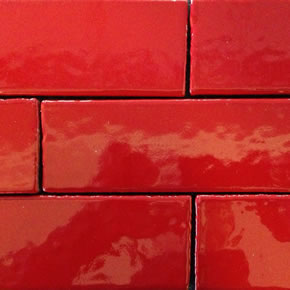 Glazed Effect Brick Slip